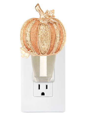 Glitter Pumpkin Nightlight Wallflowers Fragrance Plug