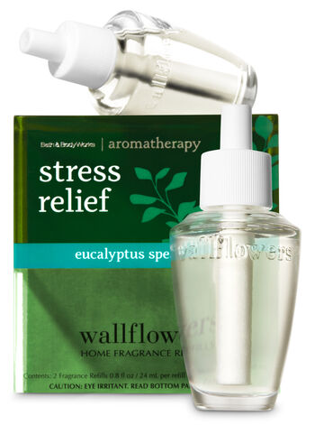 Stress Relief - Eucalyptus & Spearmint Wallflowers 2-Pack Refills - Bath And Body Works