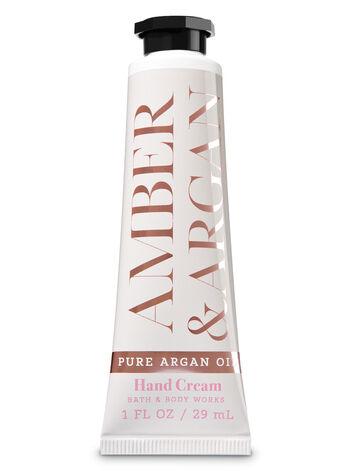 Amber & Argan Hand Cream - Bath And Body Works