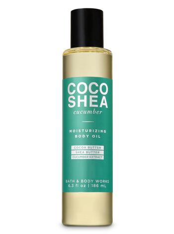 CocoShea Cucumber Moisturizing Body Oil - Bath And Body Works