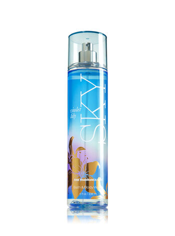 Signature Collection Violet Lily Sky Fine Fragrance Mist - Bath And Body Works