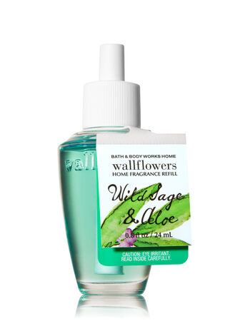 Wild Sage & Aloe Wallflowers Fragrance Refill - Bath And Body Works
