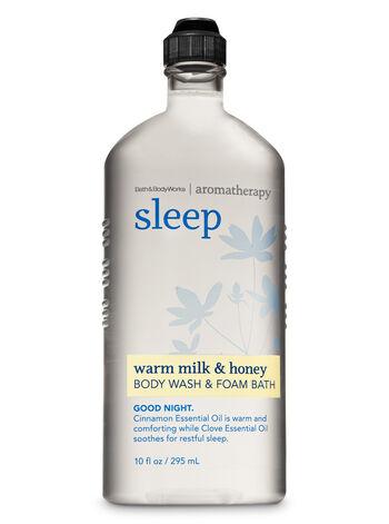 Aromatherapy Warm Milk & Honey Body Wash & Foam Bath - Bath And Body Works