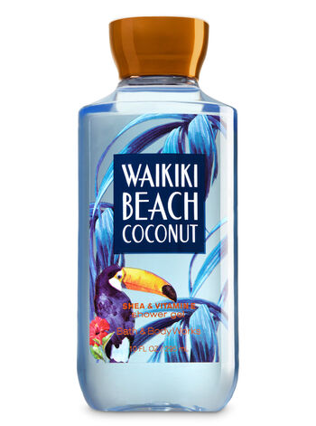 Signature Collection Waikiki Beach Coconut Shower Gel - Bath And Body Works