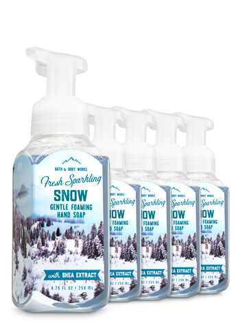Fresh Sparkling Snow 5-Pack Gentle Foaming Soap - Bath And Body Works