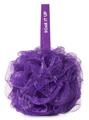 Purple Mesh Shower Sponge - Bath And Body Works