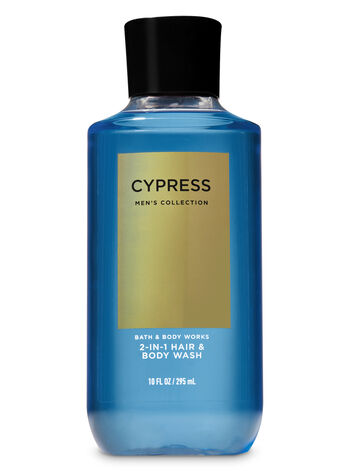 Signature Collection Cypress 2-in-1 Hair + Body Wash - Bath And Body Works