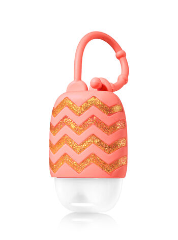 Coral with Chevrons PocketBac Holder - Bath And Body Works