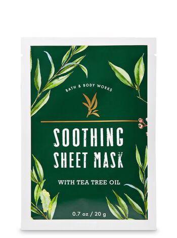 Soothing with Tea Tree Oil Face Sheet Mask