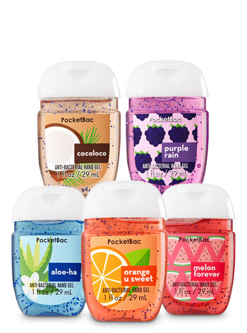 Tropic Boost 5-Pack PocketBac Sanitizers - Bath And Body Works