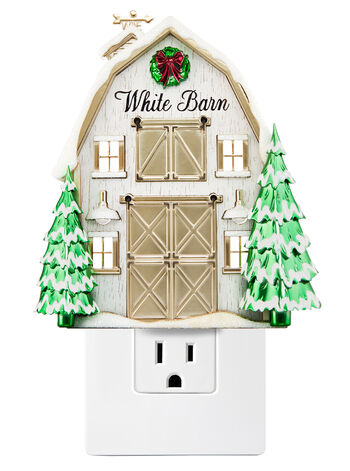 Large Frosted Barn Nightlight Wallflowers Fragrance Plug
