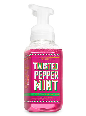 Twisted Peppermint Gentle Foaming Hand Soap - Bath And Body Works