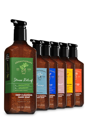 Aromatherapy Essential Aromatherapy 6-Pack Deep Cleansing Soap - Bath And Body Works