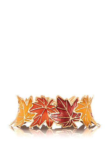 Colorful Autumn Leaves 3-Wick Candle Sleeve