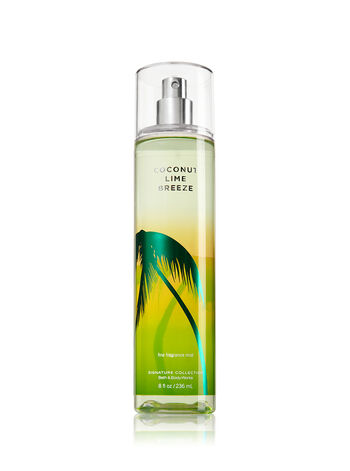 Signature Collection Coconut Lime Breeze Fine Fragrance Mist - Bath And Body Works