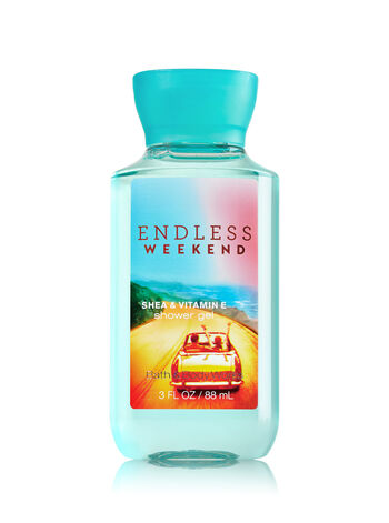 Signature Collection Endless Weekend Travel Size Shower Gel - Bath And Body Works