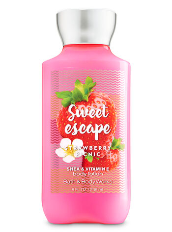 Signature Collection Strawberry Picnic Body Lotion - Bath And Body Works