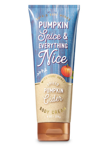 Signature Collection Spiced Pumpkin Cider Body Cream - Bath And Body Works