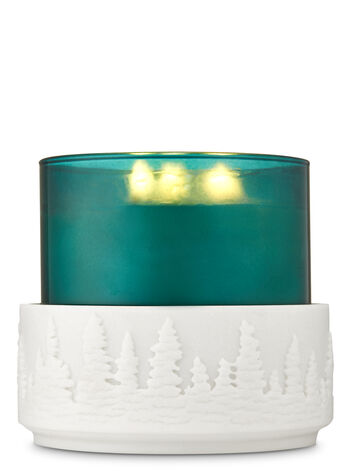 Resin Forest 3-Wick Candle Holder - Bath And Body Works