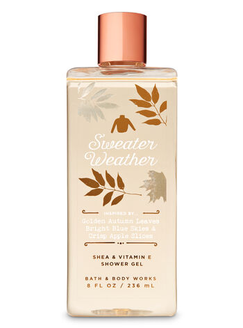 Signature Collection Sweater Weather Shower Gel - Bath And Body Works