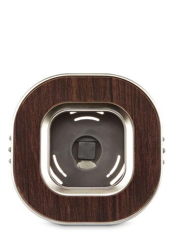 Wood Square Vent Clip Scentportable Holder