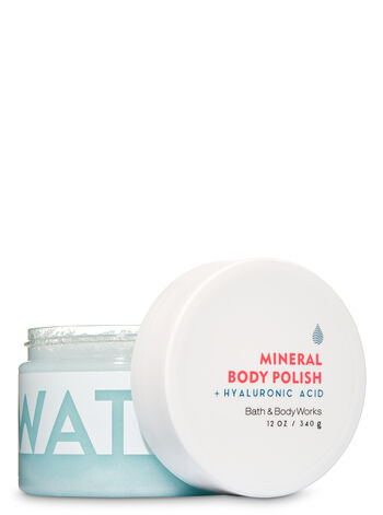 Water Hyaluronic Acid Mineral Body Polish - Bath And Body Works
