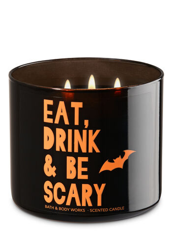 Bourbon Sea Salt Caramel 3-Wick Candle - Bath And Body Works