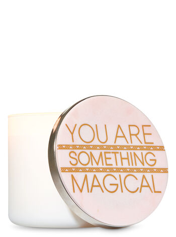 You Are Something Magical 3-Wick Candle Lid Magnet - Bath And Body Works