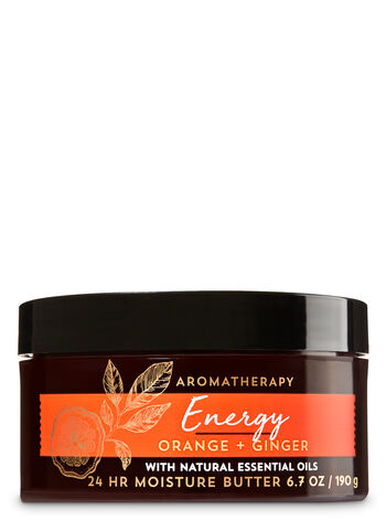 Aromatherapy Energy - Orange & Ginger Body Butter - Bath And Body Works