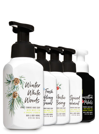 Natural Winter Faves Gentle Foaming Hand Soap, 5-Pack - Bath And Body Works