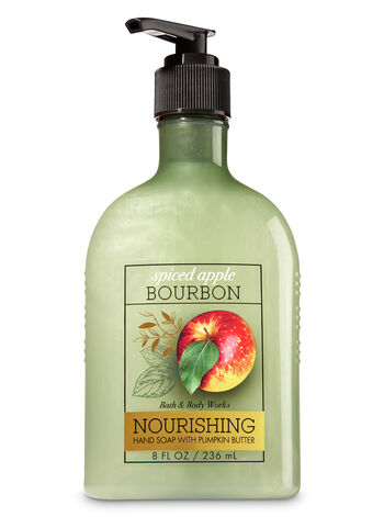 Spiced Apple Bourbon Hand Soap with Pumpkin Butter - Bath And Body Works