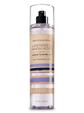 Signature Collection Lavender & Sandalwood Fine Fragrance Mist - Bath And Body Works