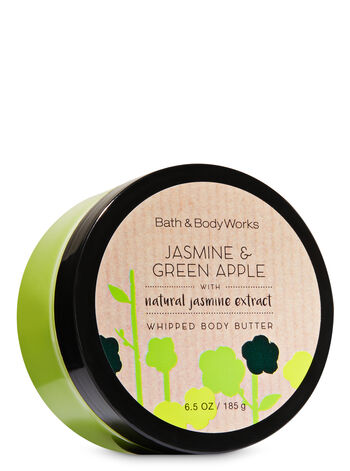 Signature Collection Jasmine & Green Apple Whipped Body Butter - Bath And Body Works