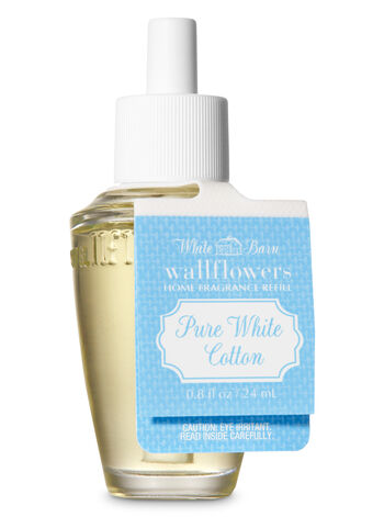 Pure White Cotton Wallflowers Fragrance Refill - Bath And Body Works