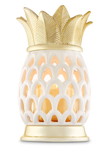 Pineapple Luminary 3-Wick Candle Holder