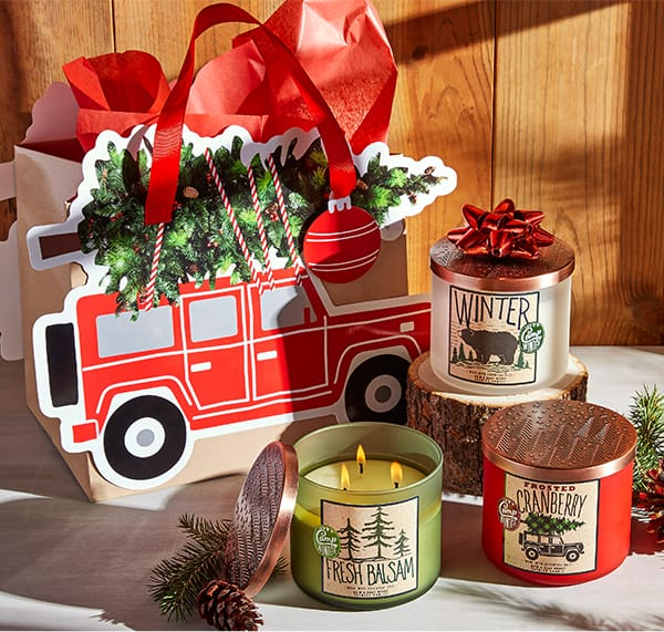 Christmas gift guide bath body works combines some of our most loved seasonal scents with adorable new outdoorsy designs and theyre literally made to go with this camp winter gift bag negle Images