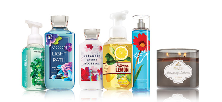 Stop & Smell the Happy! America's Favorites for Body, Hand and Home.