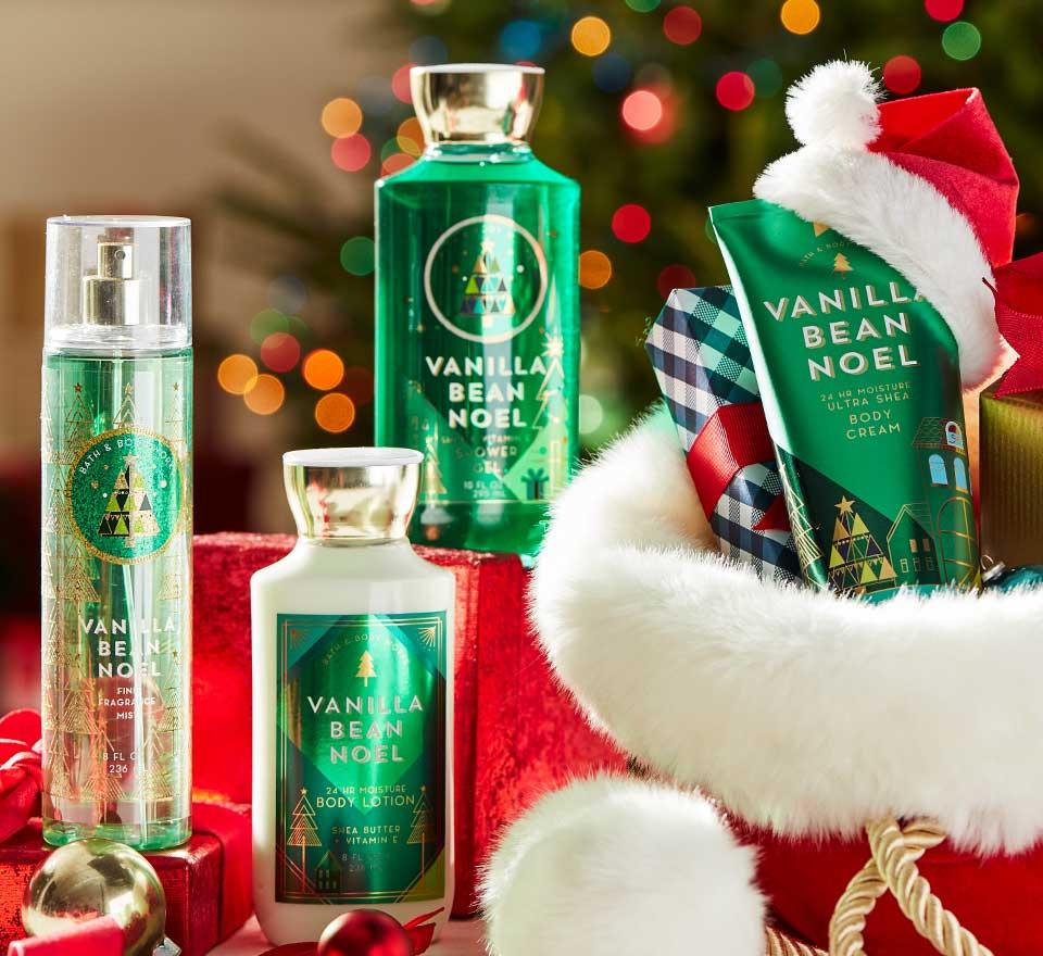 Christmas Gift Guide Bath Body Works