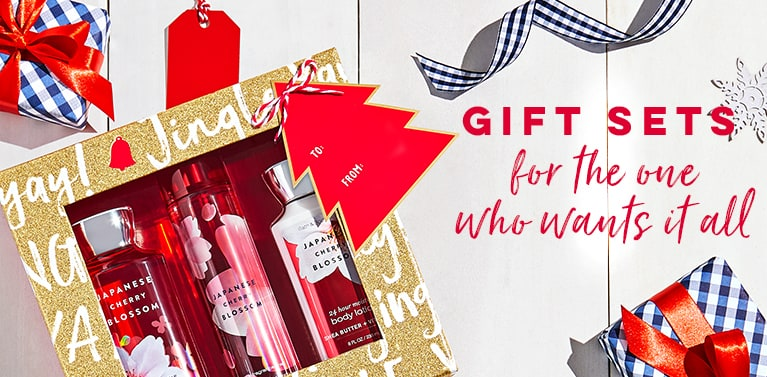 Gift sets for the one who wants it all.