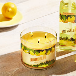 Limoncello 3-Wick Candle - Bath And Body Works