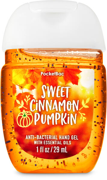 Sweet Cinnamon Pumpkin PocketBac Hand Sanitizer