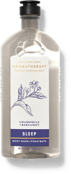 Chamomile Bergamot Body Wash and Foam Bath