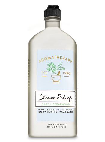 Aromatherapy Sage Cedarwood Body Wash & Foam Bath - Bath And Body Works
