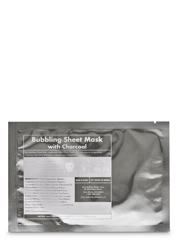 Bubbling with Charcoal Face Sheet Mask