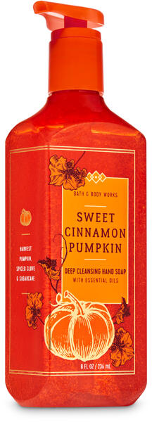 Sweet Cinnamon Pumpkin Deep Cleansing Hand Soap