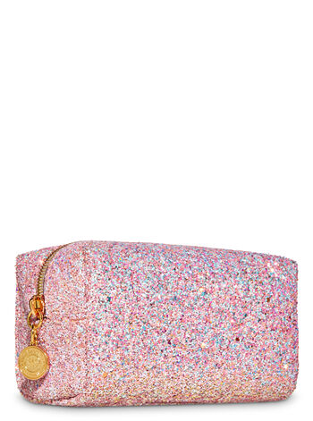 Pink Glitter Cosmetic Bag - Bath And Body Works
