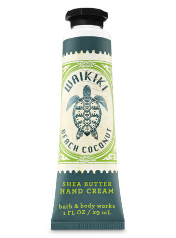 Waikiki Beach Coconut Hand Cream - Bath And Body Works
