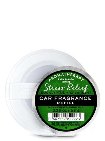 Eucalyptus Spearmint Car Fragrance Refill - Bath And Body Works