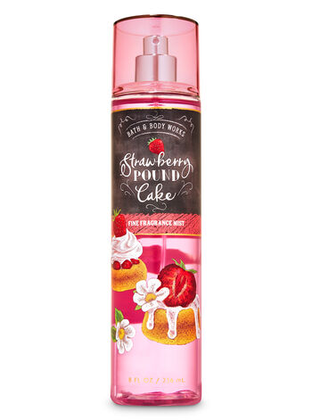 Strawberry Pound Cake Fine Fragrance Mist