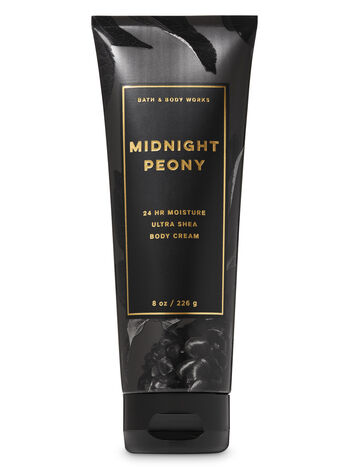 Midnight Peony Ultra Shea Body Cream - Bath And Body Works